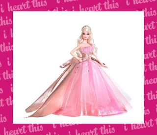 Turn the Holidays Pink: 2009 Holiday Doll