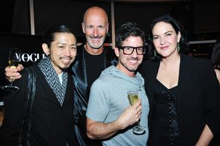 Robert at Vogue with Kirstie Clements, Akira and Simon Lock