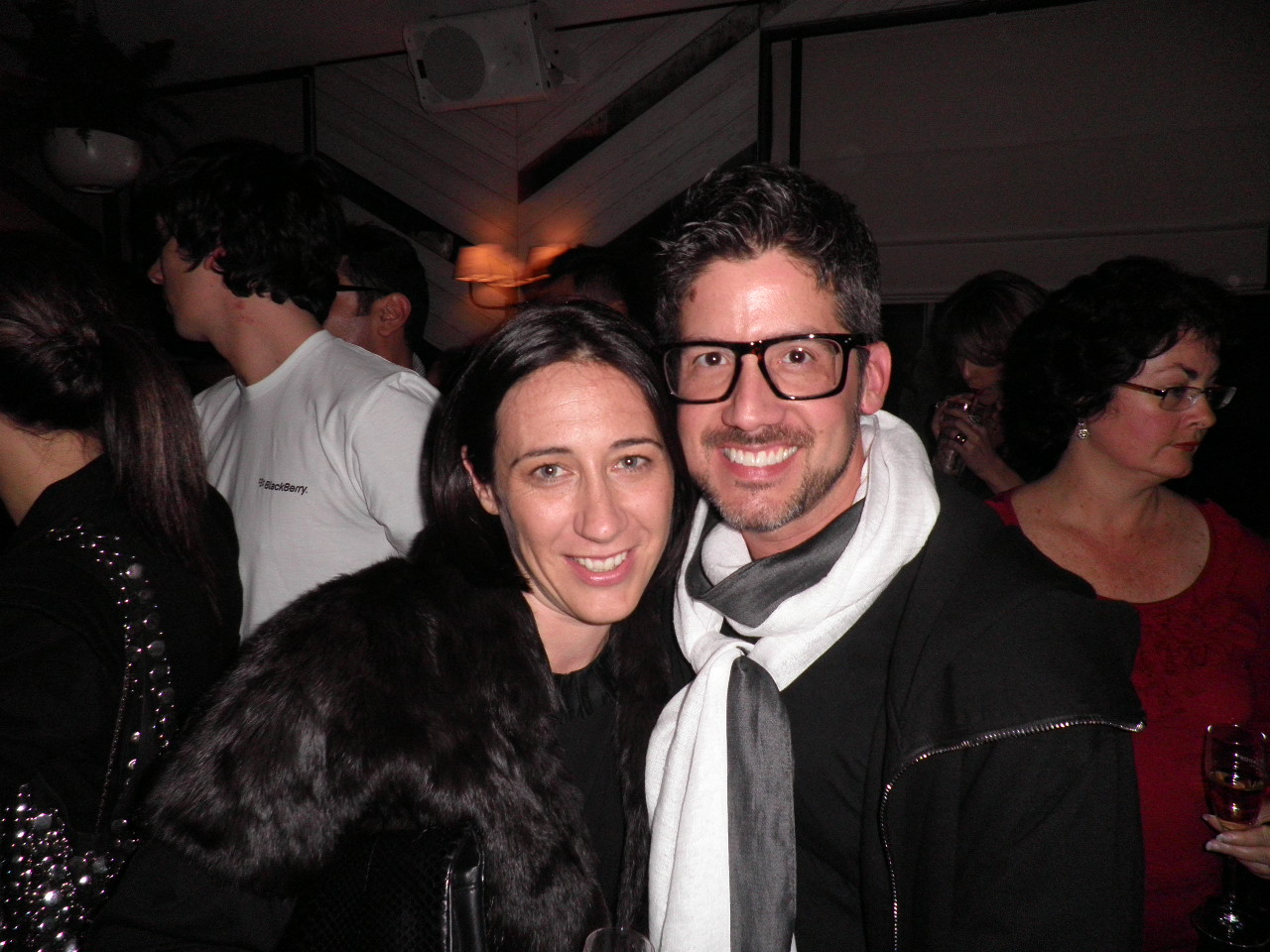 Edwina McCann & Robert